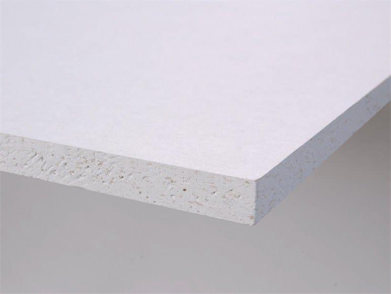 Acoustic plasterboard ceiling tiles LaDura Plus BA13 by Siniat
