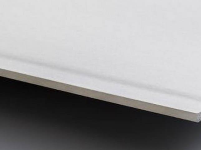 Acoustic plasterboard ceiling tiles LaDura Plus BA15 by Siniat