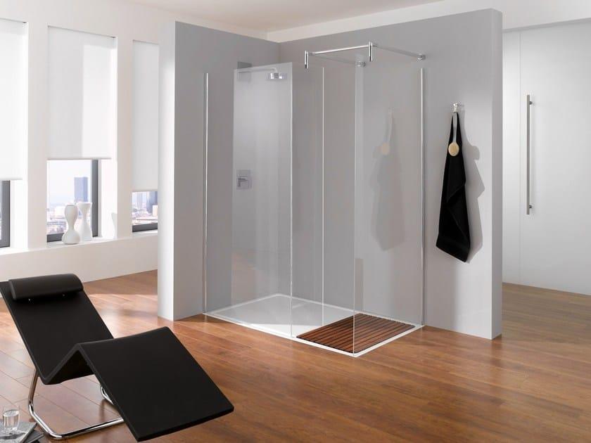 Slatted flush fitting shower tray BETTEENTRY | Rectangular shower tray by Bette