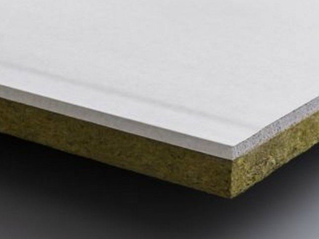 Rock wool Thermal insulation panel PregyLaDuraRoche by Siniat