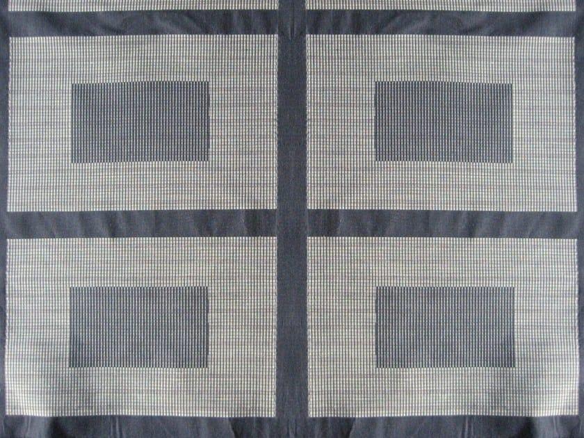 Check washable cotton fabric HEBRON by KOHRO