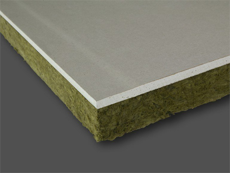 Rock wool Thermal insulation panel PregyRoche by Siniat