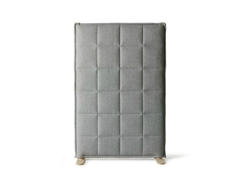 Sound absorbing workstation screen STITCH by Abstracta