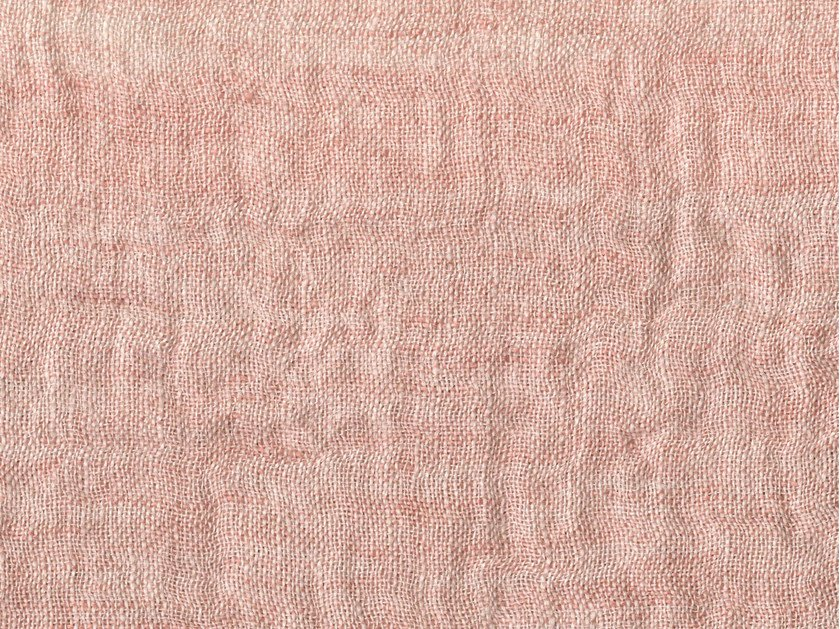 Solid-color linen fabric FIESOLE by KOHRO