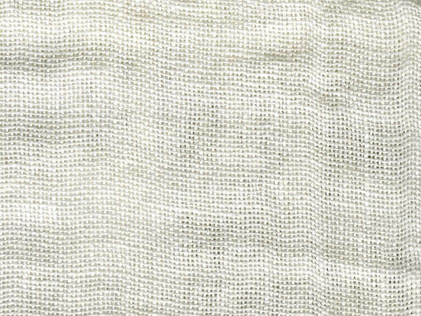 Solid-color linen fabric AREZZO by KOHRO