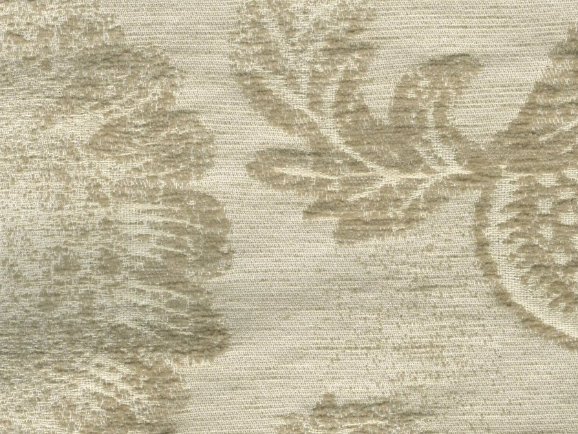 Cotton fabric with floral pattern GUERMANTES by KOHRO