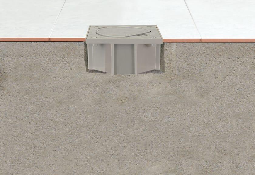 Base per installazione su pavimentazione in calcestruzzo