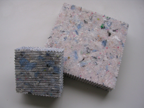 Recycled fabric sound insulation panel FIBERTEX PAN by DIASEN