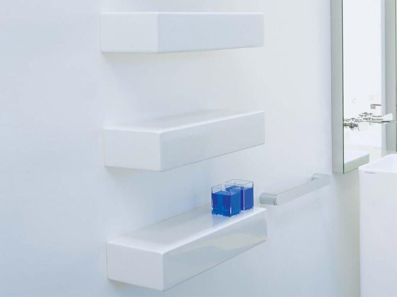 Design ceramic wall shelf BRICK | Ceramic wall shelf by CERAMICA FLAMINIA