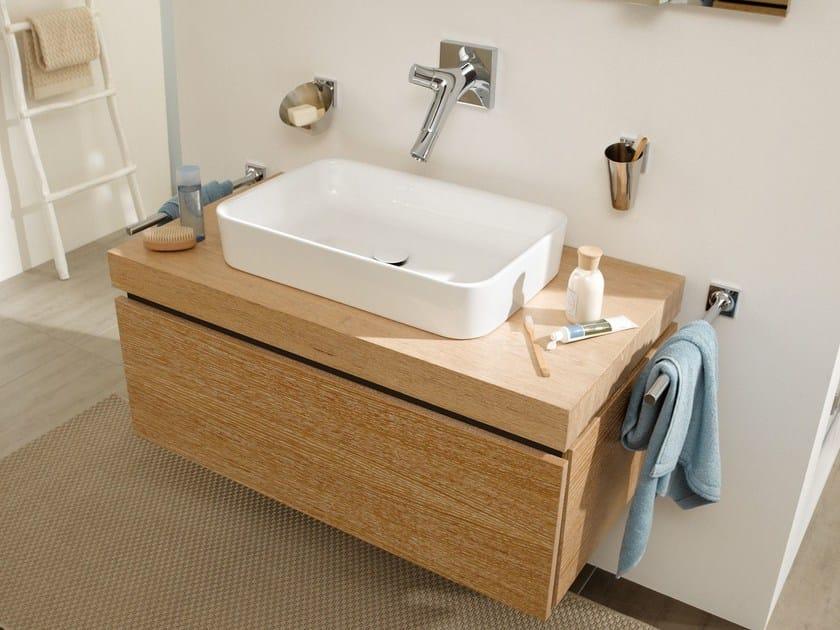 Betteart lavabo sobre encimera by bette dise o tesseraux for Lavabo sobre encimera rectangular