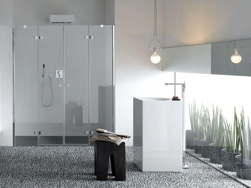 Freestanding enamelled steel washbasin BETTEBOWL MONOLITH by Bette