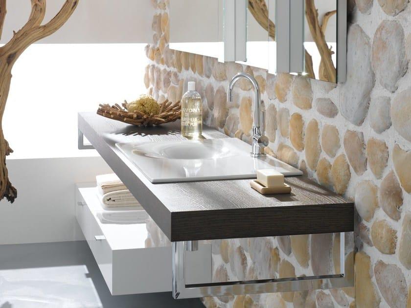 Inset rectangular enamelled steel washbasin BETTEBOWL   Inset washbasin by Bette