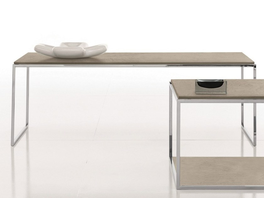 Low rectangular coffee table BASIC by Presotto