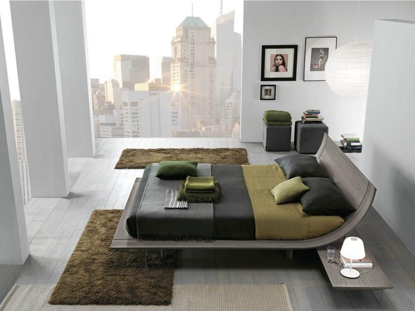 Oak double bed AQUA | Oak bed by Presotto