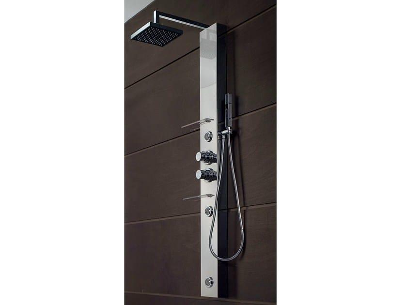 Hydromassage multifunction shower panel BRIDGE | Shower panel by Gruppo Geromin