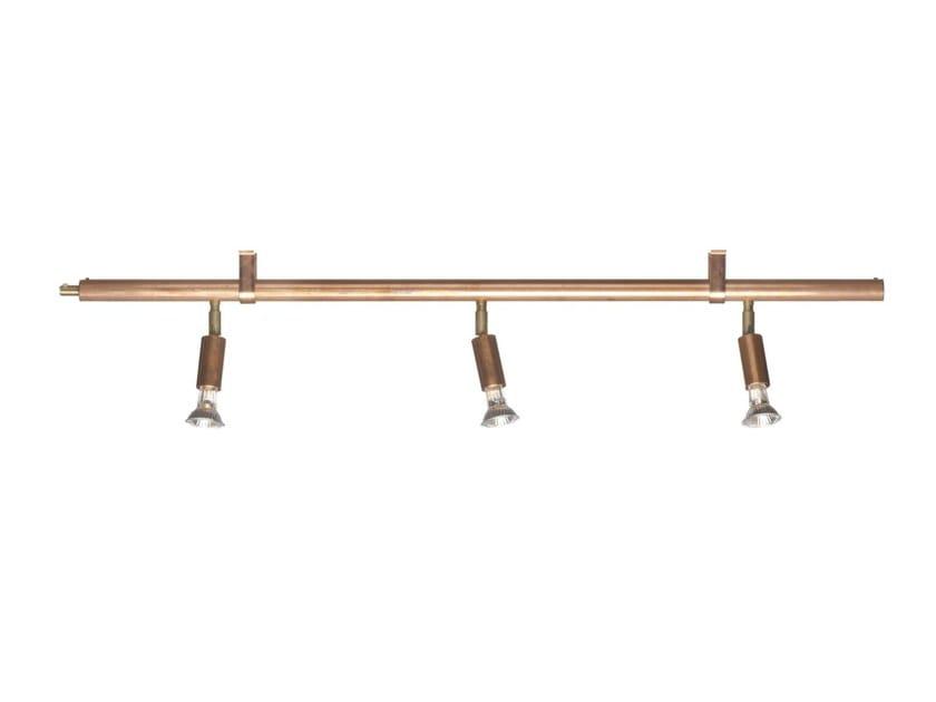 Halogen copper Track-Light STAR 3   Track-Light by Örsjö Belysning