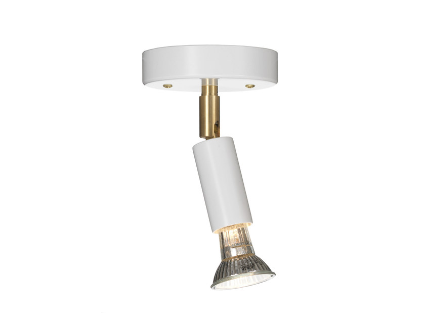 Adjustable ceiling enamelled metal spotlight STAR 1 | Enamelled metal spotlight by Örsjö Belysning