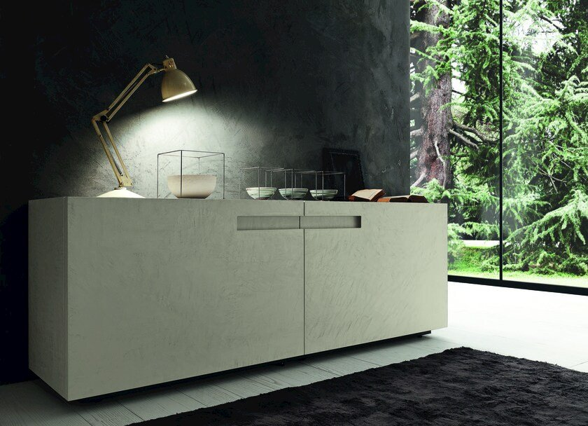 Sideboard with coplanar doors MOOD by Presotto