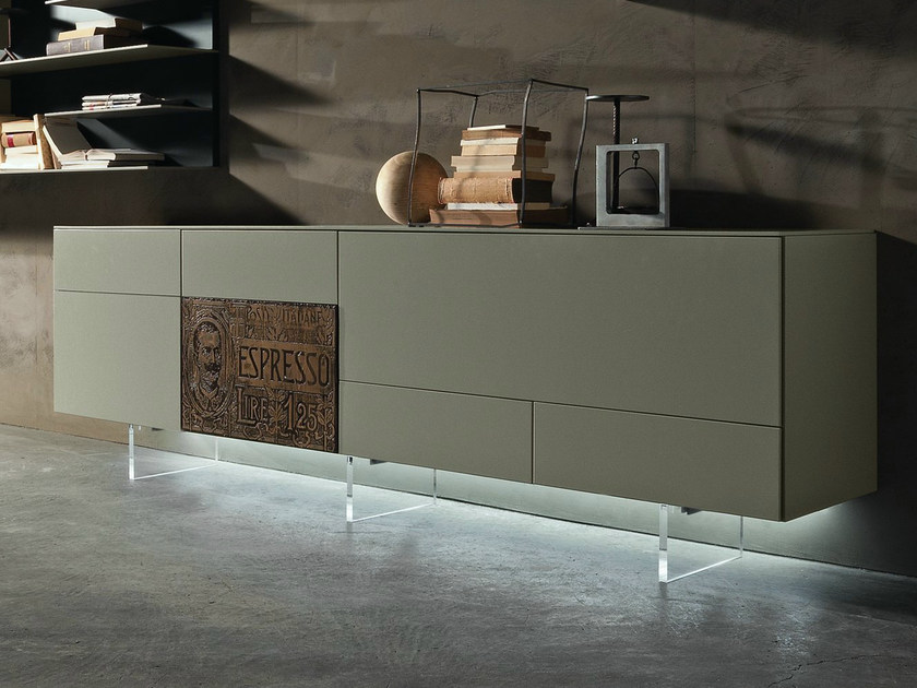INCLINART | Modulares Sideboard By Presotto Design Pierangelo Sciuto