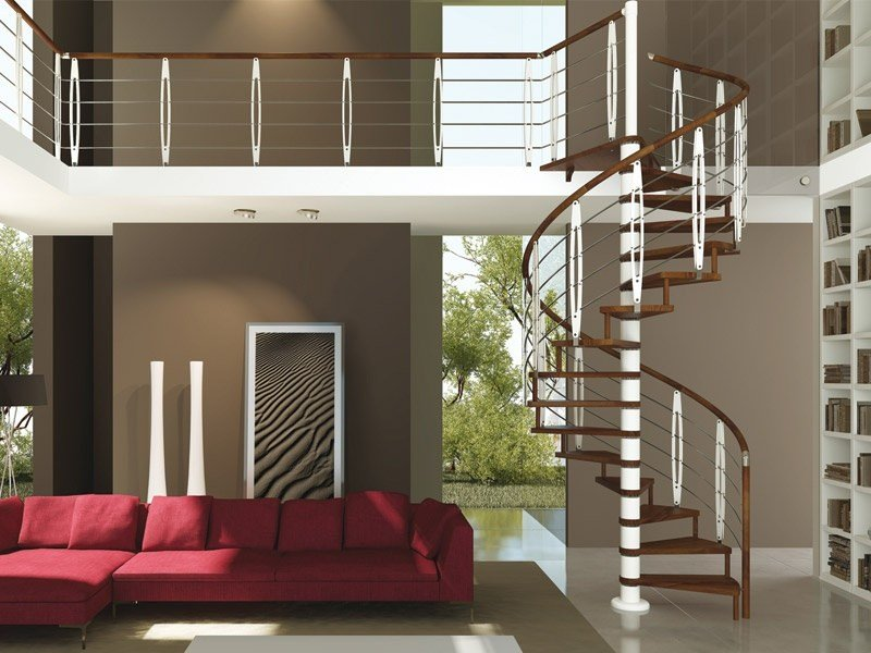 Spiral staircase TRIO | Spiral staircase by RINTAL