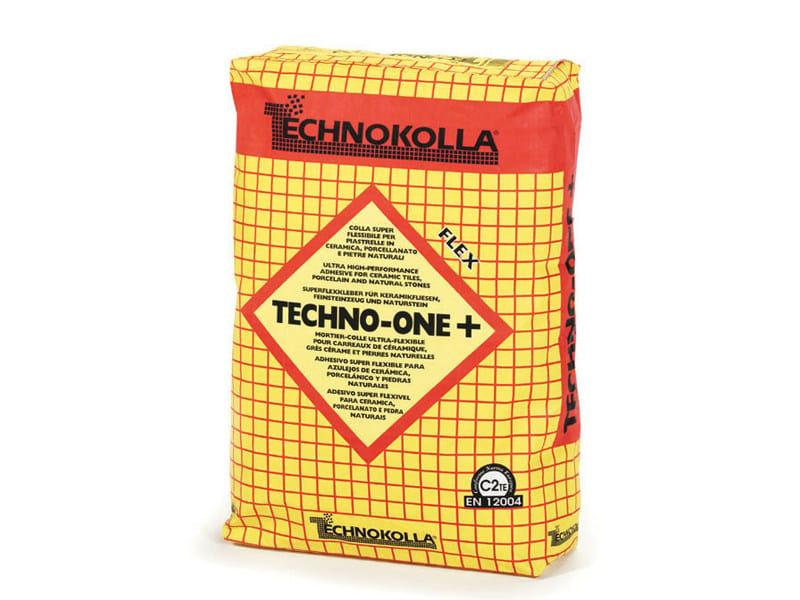 Cement-based glue TECHNO-ONE+ by TECHNOKOLLA - Sika