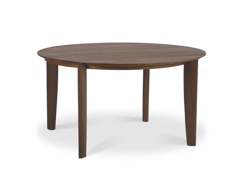 Round wooden table RIALTO | Round table by JORI