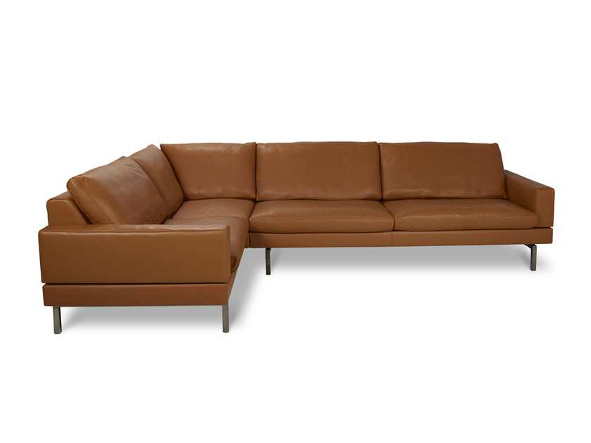 TIGRA | Leather sofa By JORI design Verhaert New Products & Services