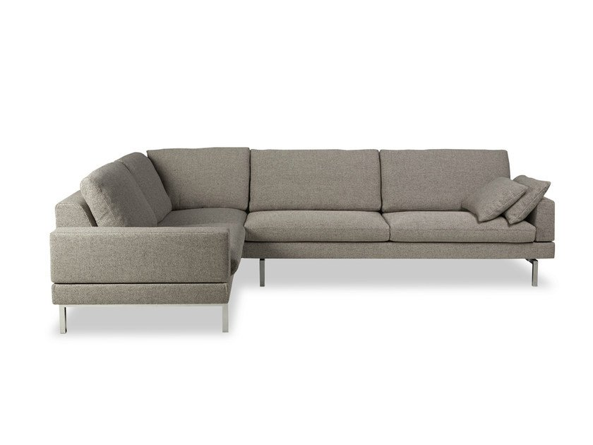 Corner fabric sofa TIGRA | Fabric sofa by JORI