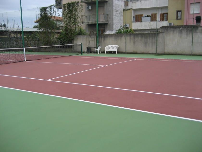 Synthetic material sports flooring SPORTGUM by DIASEN