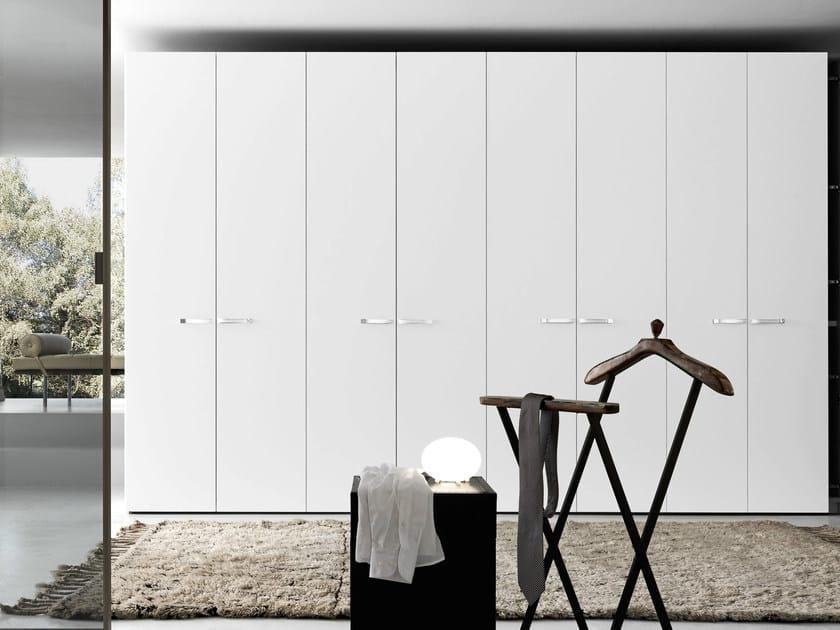 Sectional lacquered wardrobe Tecnopolis anta LISCIA by Presotto
