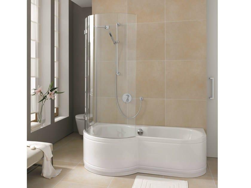 Vasca Da Bagno Acciaio Prezzi : Vasca da bagno in acciaio smaltato con doccia bettecora panel ad
