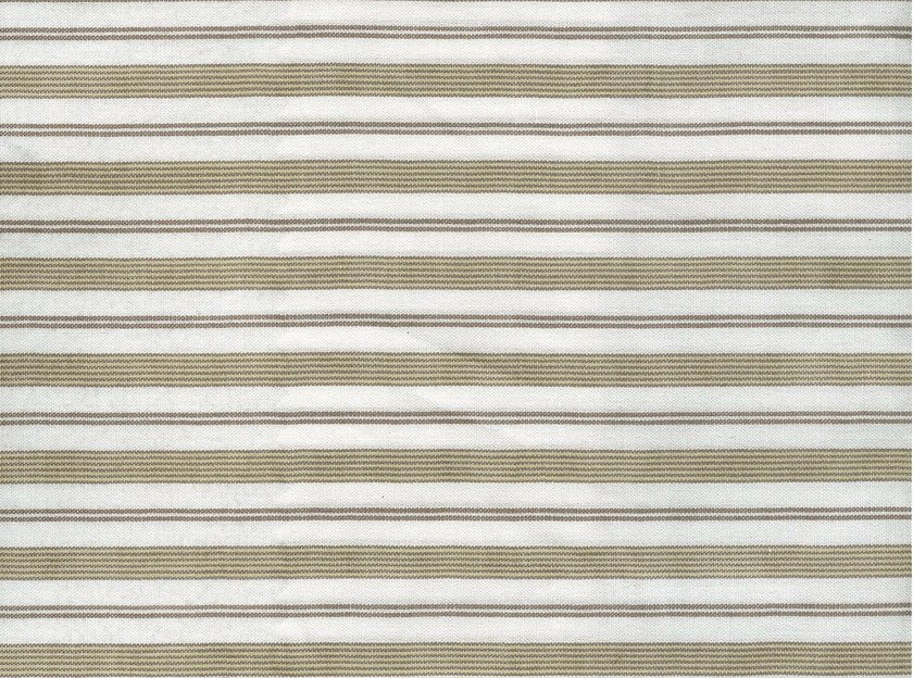 Striped cotton fabric WATTS by KOHRO