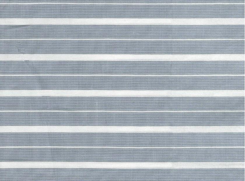 Striped cotton fabric TRINITY by KOHRO