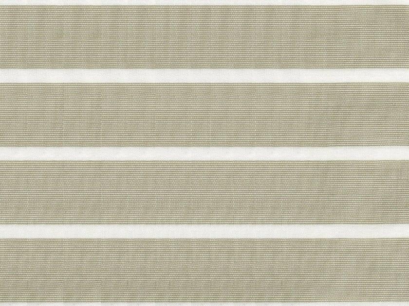 Striped cotton fabric CAIUS by KOHRO