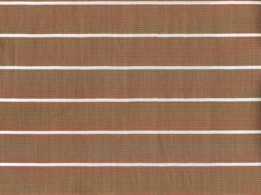 Striped cotton fabric VASSAR by KOHRO