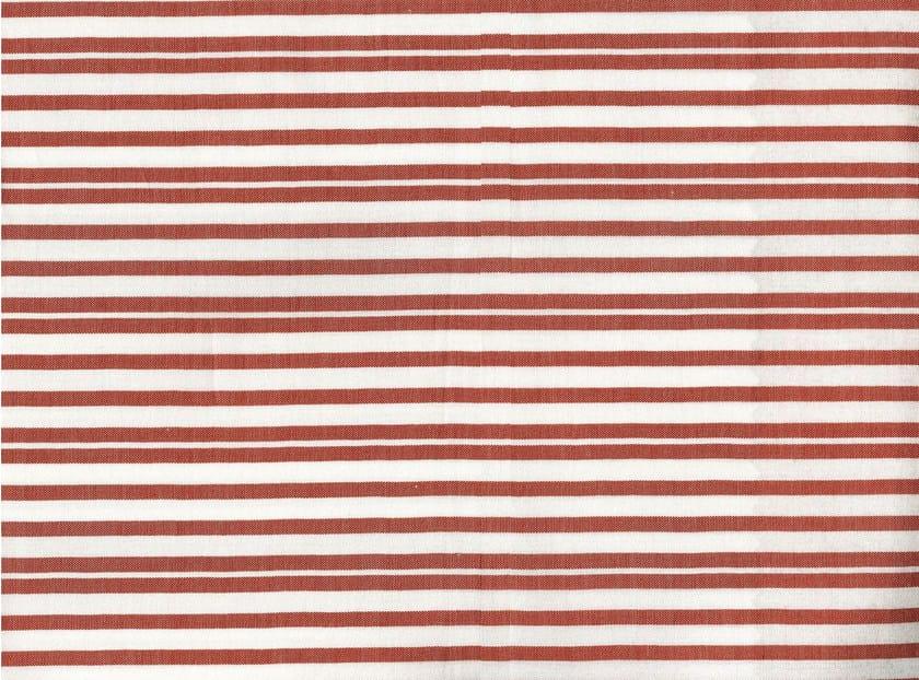 Striped cotton fabric STAMFORD by KOHRO