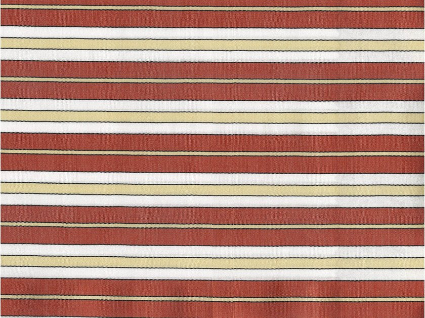 Striped cotton fabric HAVERFORD by KOHRO