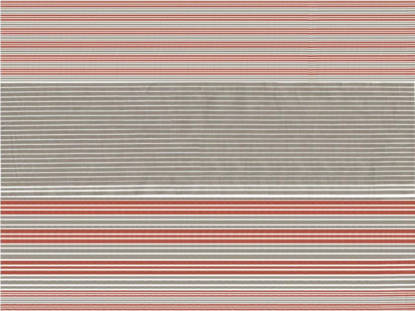 Striped cotton fabric WOODSTOCK by KOHRO