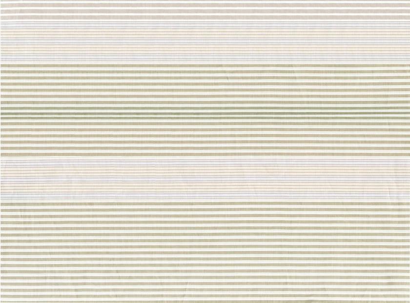 Striped cotton fabric SORBONNE by KOHRO