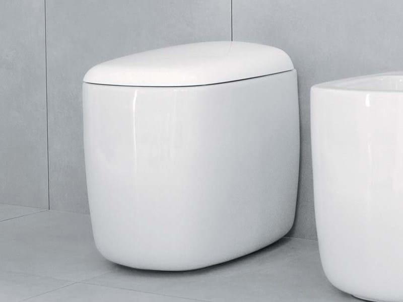Ceramic toilet MONO' | Toilet by CERAMICA FLAMINIA