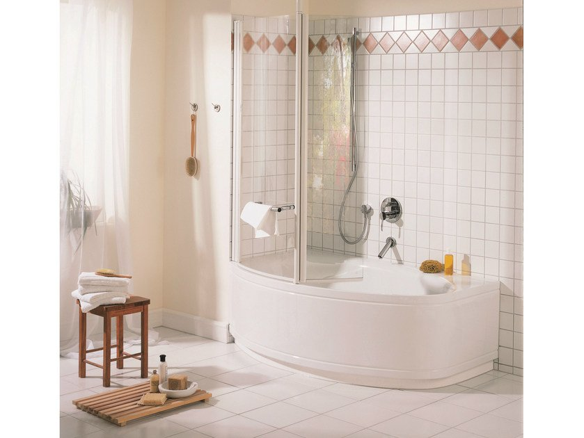 Enamelled steel bathtub BETTEPOOL II by Bette