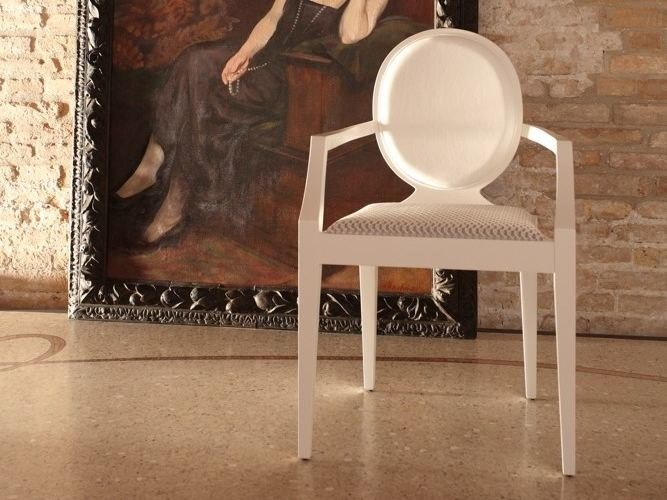 Wooden chair with armrests POSITANO   Chair with armrests by COLLI CASA