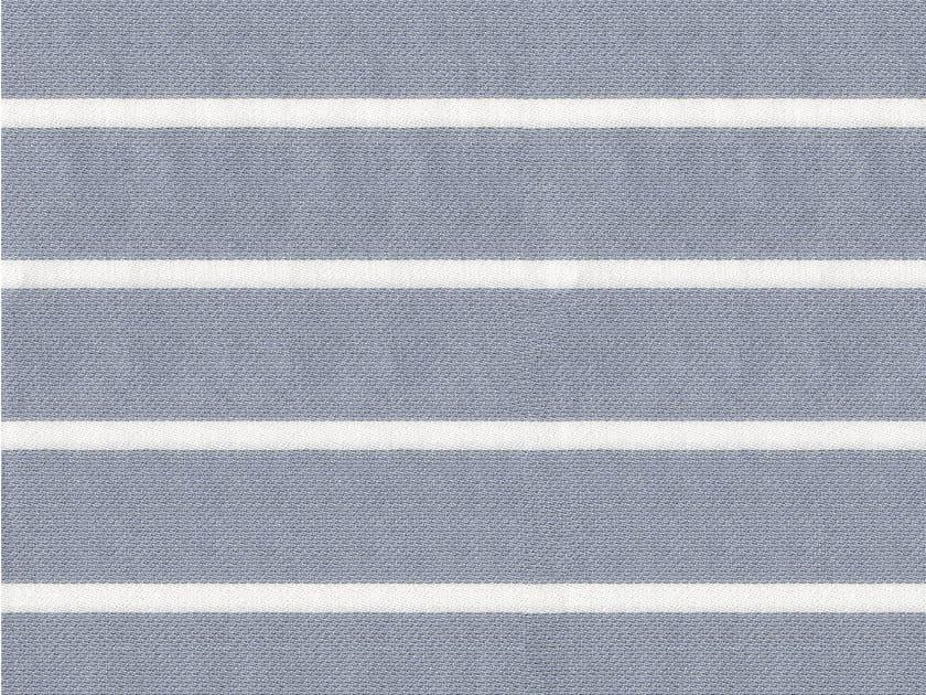 Striped cotton fabric YALE by KOHRO