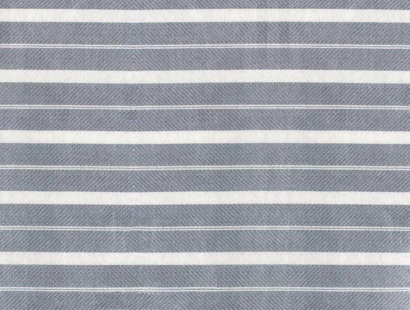 Striped cotton fabric CAMBRIDGE by KOHRO