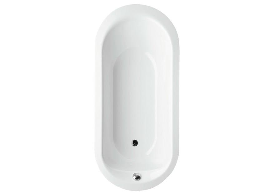Oval built-in enamelled steel bathtub BETTEPUR OVAL by Bette