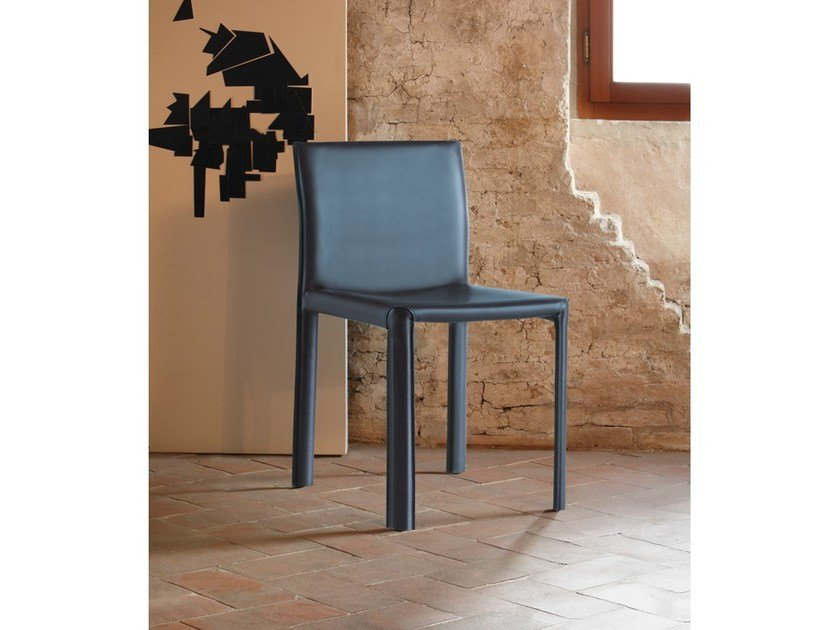 Leather chair LERICI | Chair by COLLI CASA