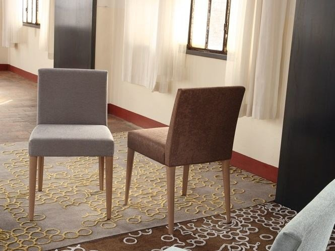 Upholstered fabric chair TAORMINA | Chair by COLLI CASA