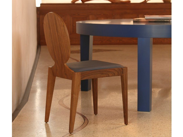 Medallion wooden chair POSITANO | Chair by COLLI CASA