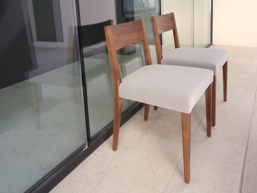 Wooden chair RAPALLO | Chair by COLLI CASA