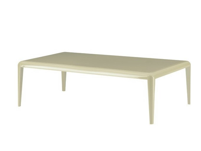 Lacquered rectangular wooden table CAPRI | Lacquered table by COLLI CASA